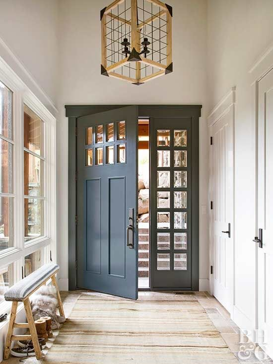Ideas For Front Doors Using Sidelights Transoms