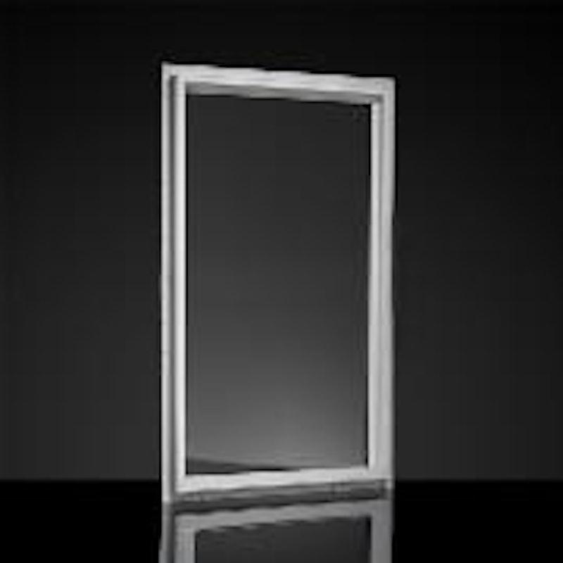 Model of a white MI picture window interior.