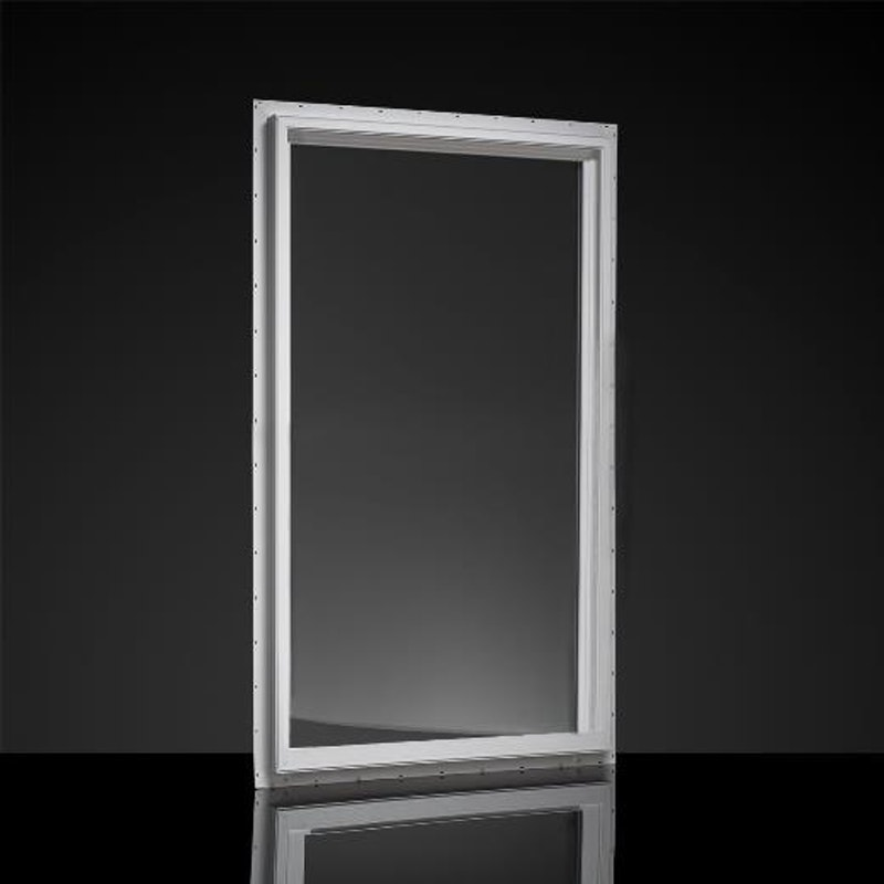 Model of a MI picture window with white finish.