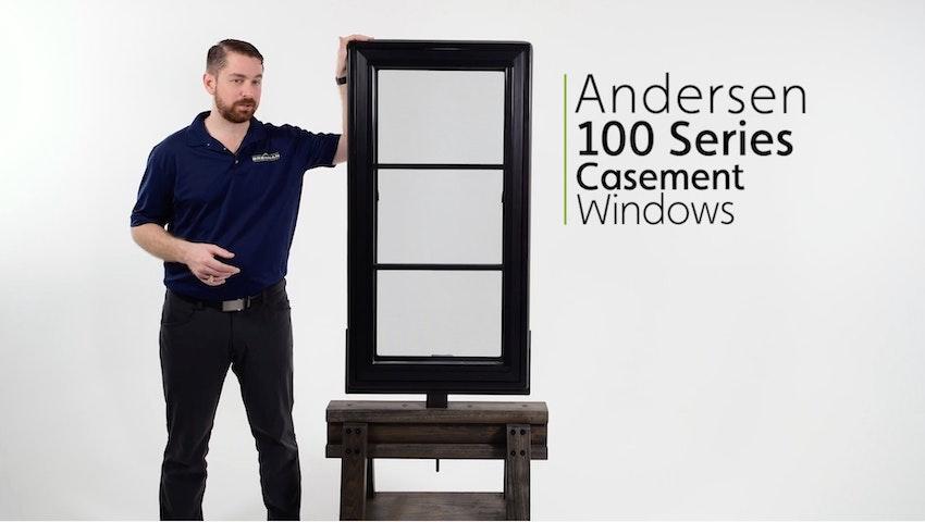 Andersen 100 Series Fibrex Casement Window Review Video Thumbnail Image
