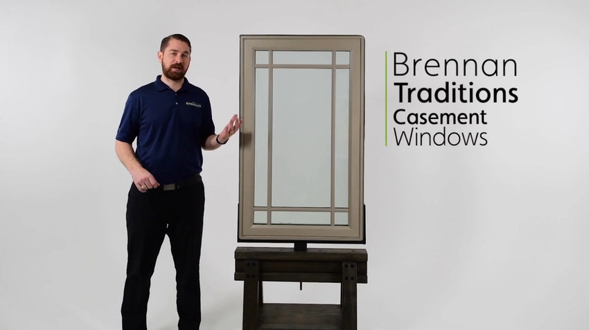 Brennan Traditions Vinyl Casement Window Review Video Thumbnail Image