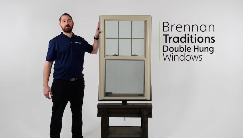Brennan Traditions Vinyl Double Hung Window Review Video Thumbnail Image
