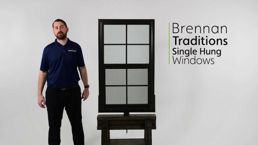 Brennan Traditions Single Hung Window Review Video Thumbnail Image