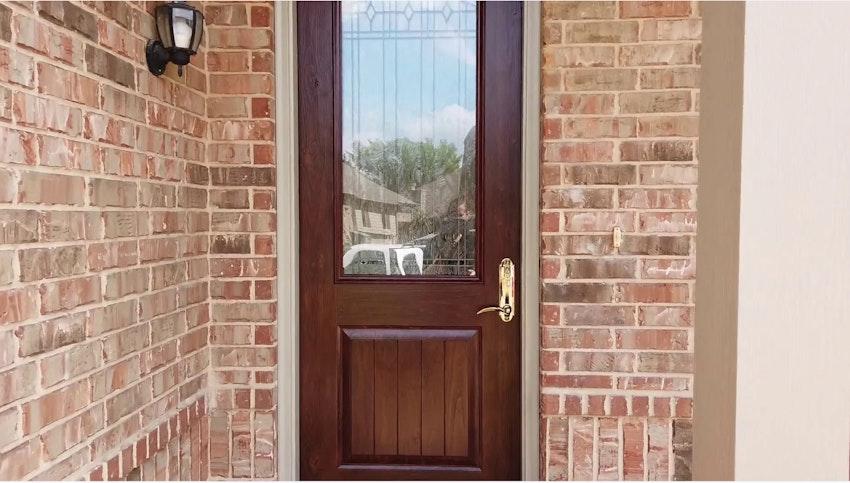 ProVia Signet Knotty Alder Front Door Review Video Thumbnail Image