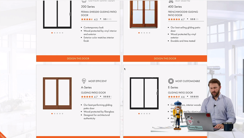How much are Andersen gliding patio doors? Thumbnail Image