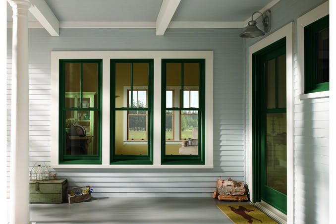 Andersen 400 Series Double Hung Windows
