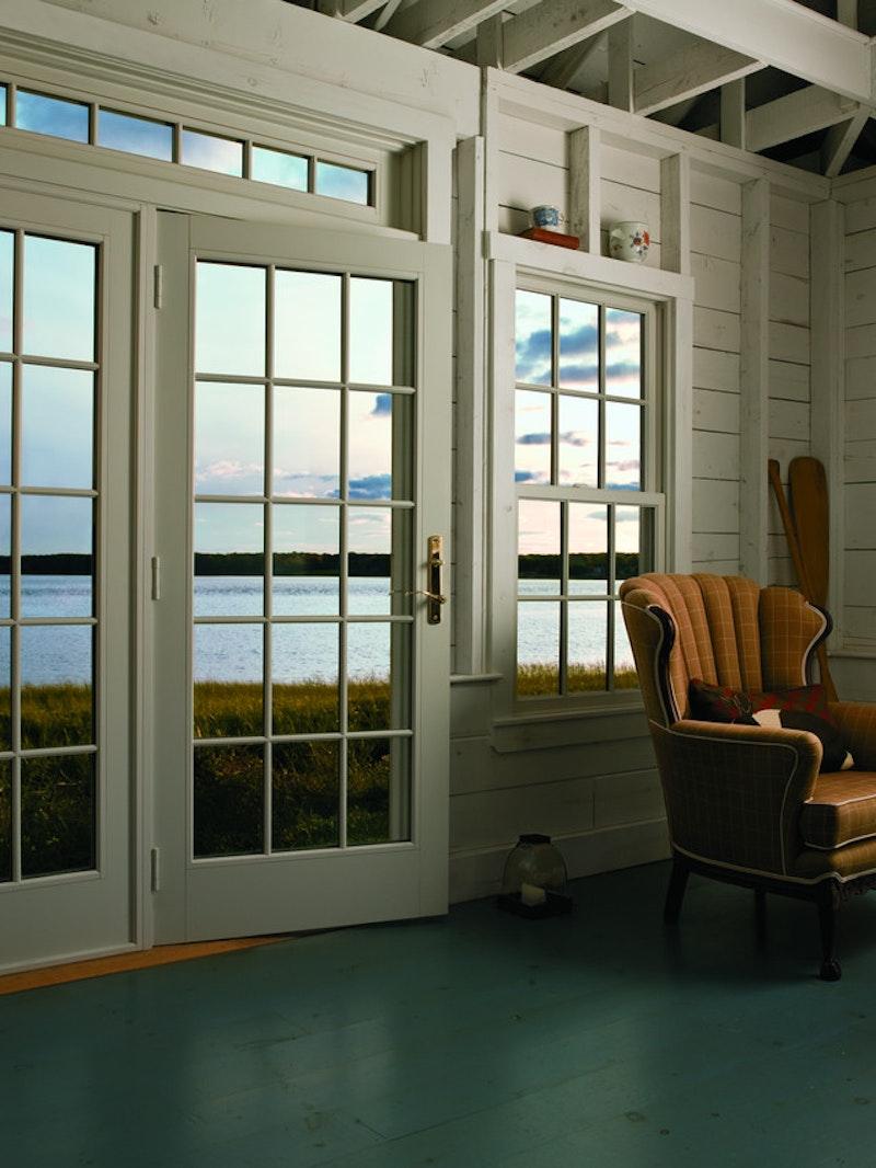 - Andersen 400 Series Frenchwood Hinged Patio Doors