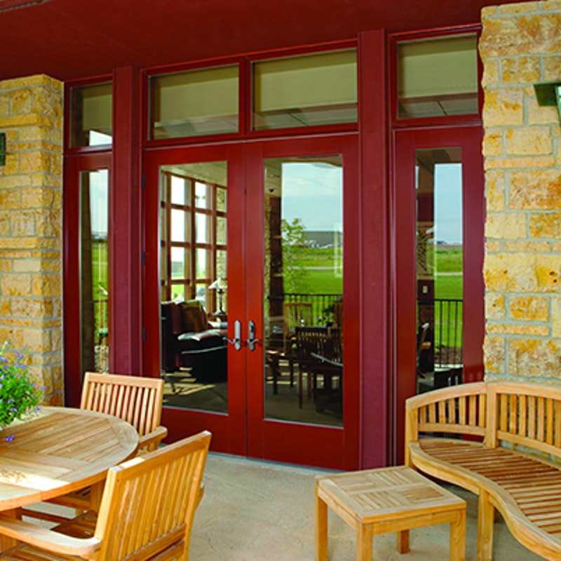 Contemporary Andersen E Series Hinged Patio Doors