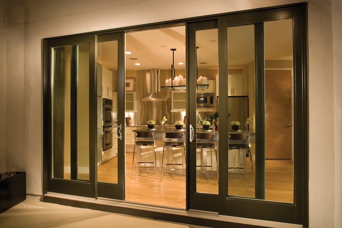Milgard Ultra French Style Sliding Doors