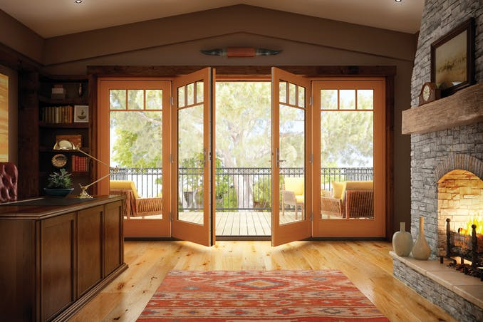 Milgard Essence French Doors Fiberglass Patio Doors