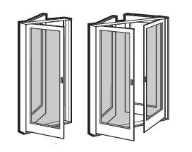 Andersen 400 Series Frenchwood Hinged Inswing Patio Doors