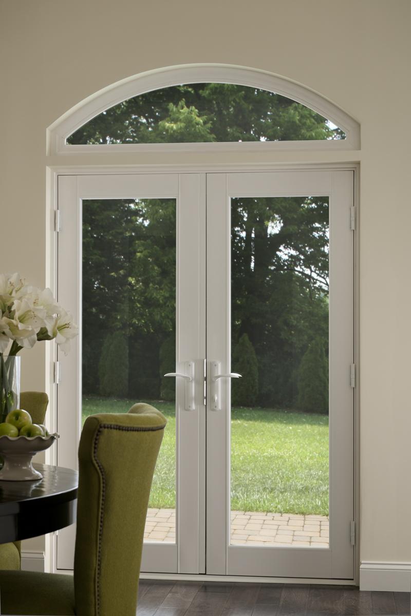 & Milgard® Tuscany® French Patio Doors