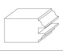 Geometric illustration of ogee sticking