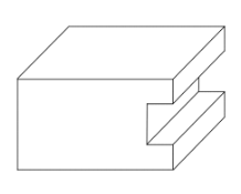 Geometric illustration of square sticking
