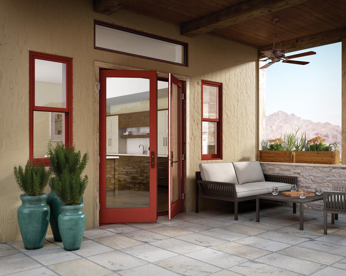Doors Patio: Milgard Essence French Patio Doors