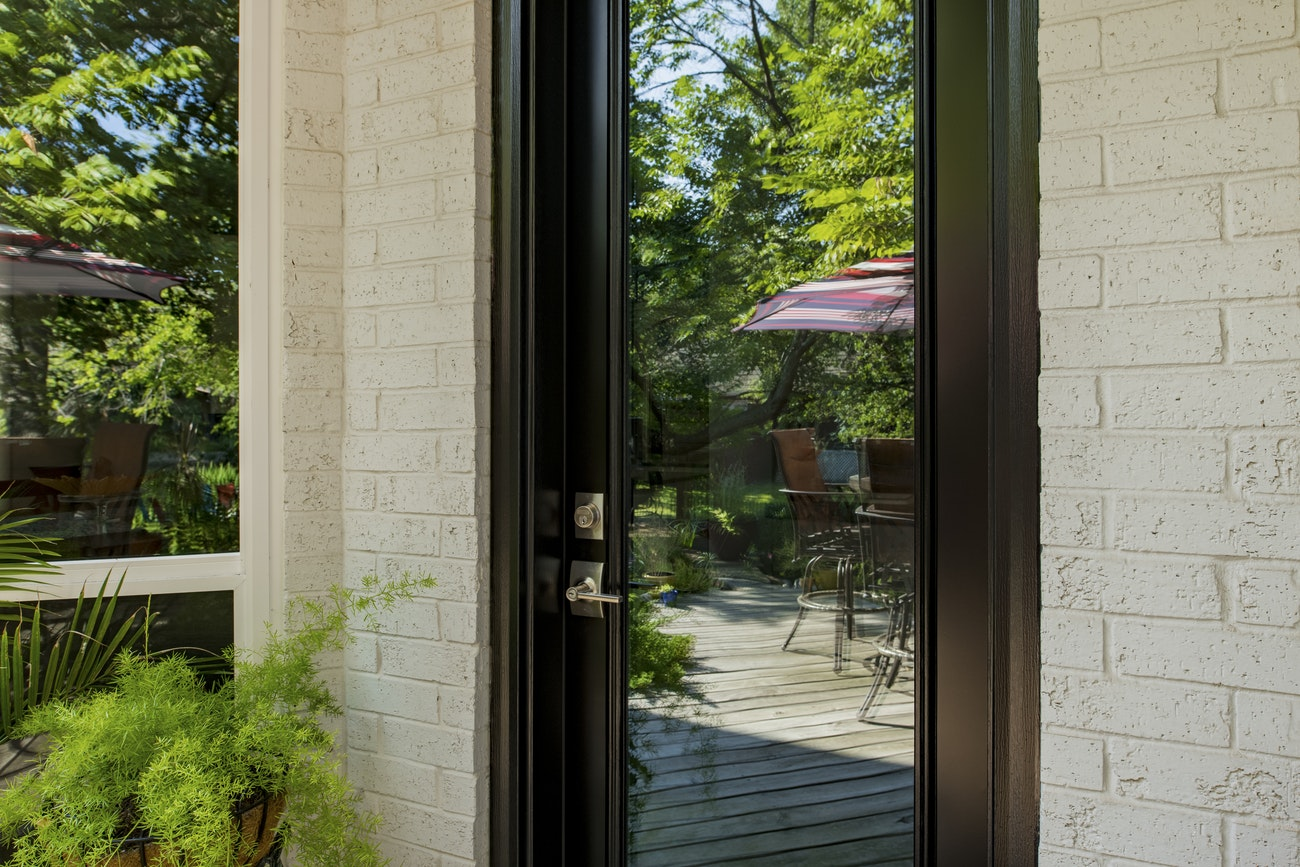 black-provia-door-with-patio-view