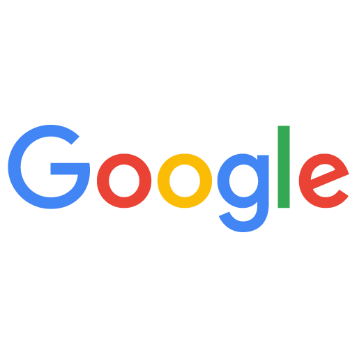 Google logo (Blue-G; Red-o; Yellow-o; Blue-g; Green-l; Red-e.