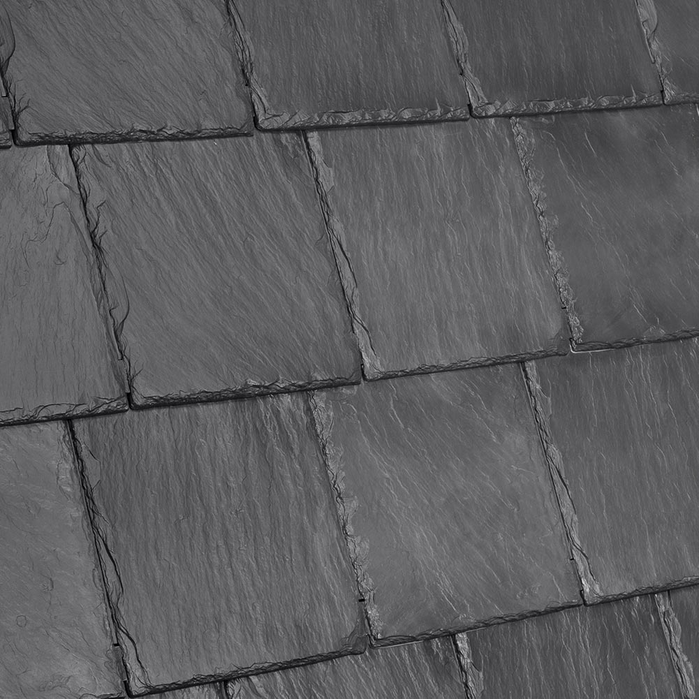 Davinci Roofscapes Bellaforte Slate Smokey Gray.
