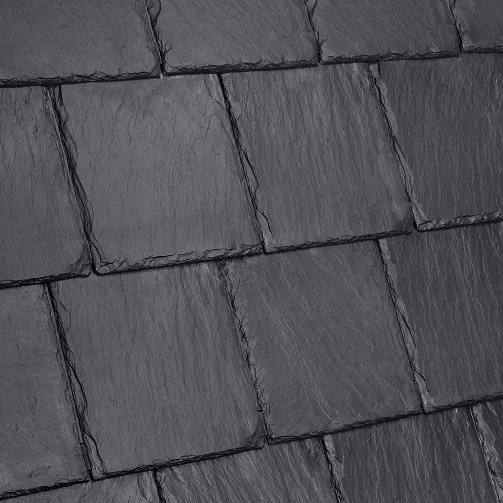 Davinci Roofscapes Bellaforte Slate Slate Black.