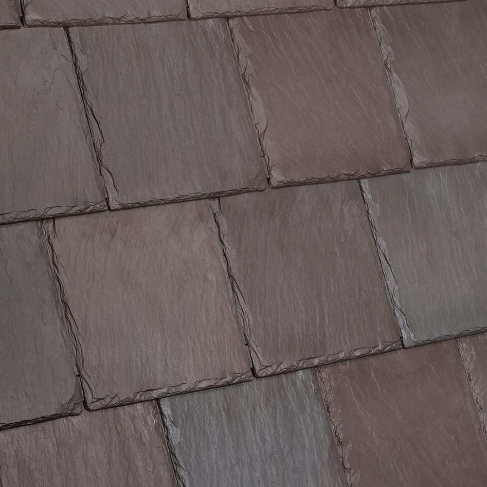Davinci Roofscapes Bellaforte Slate Brownstone.