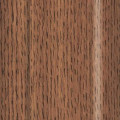 Jeld-Wen Premium Vinyl Dark Oak Woodgrain window option.