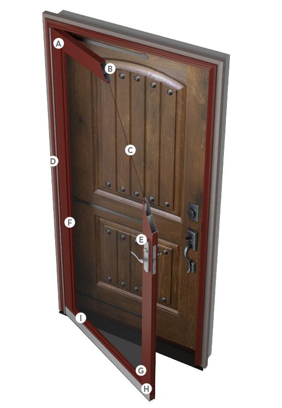Provia 174 Spectrum Storm Doors