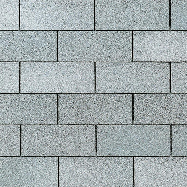 Supreme asphalt shingle in aspen gray.