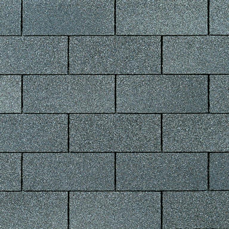 Supreme asphalt shingle in estate gray.