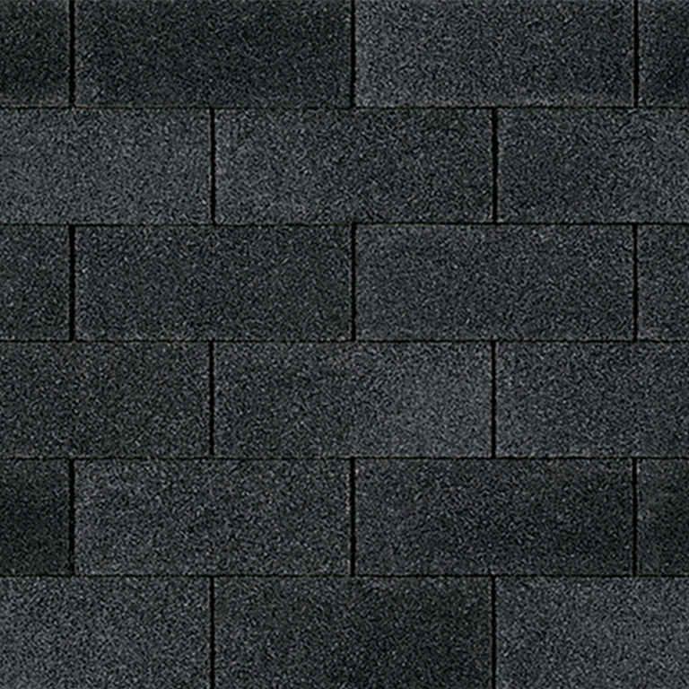 Supreme asphalt shingle in onyx black.